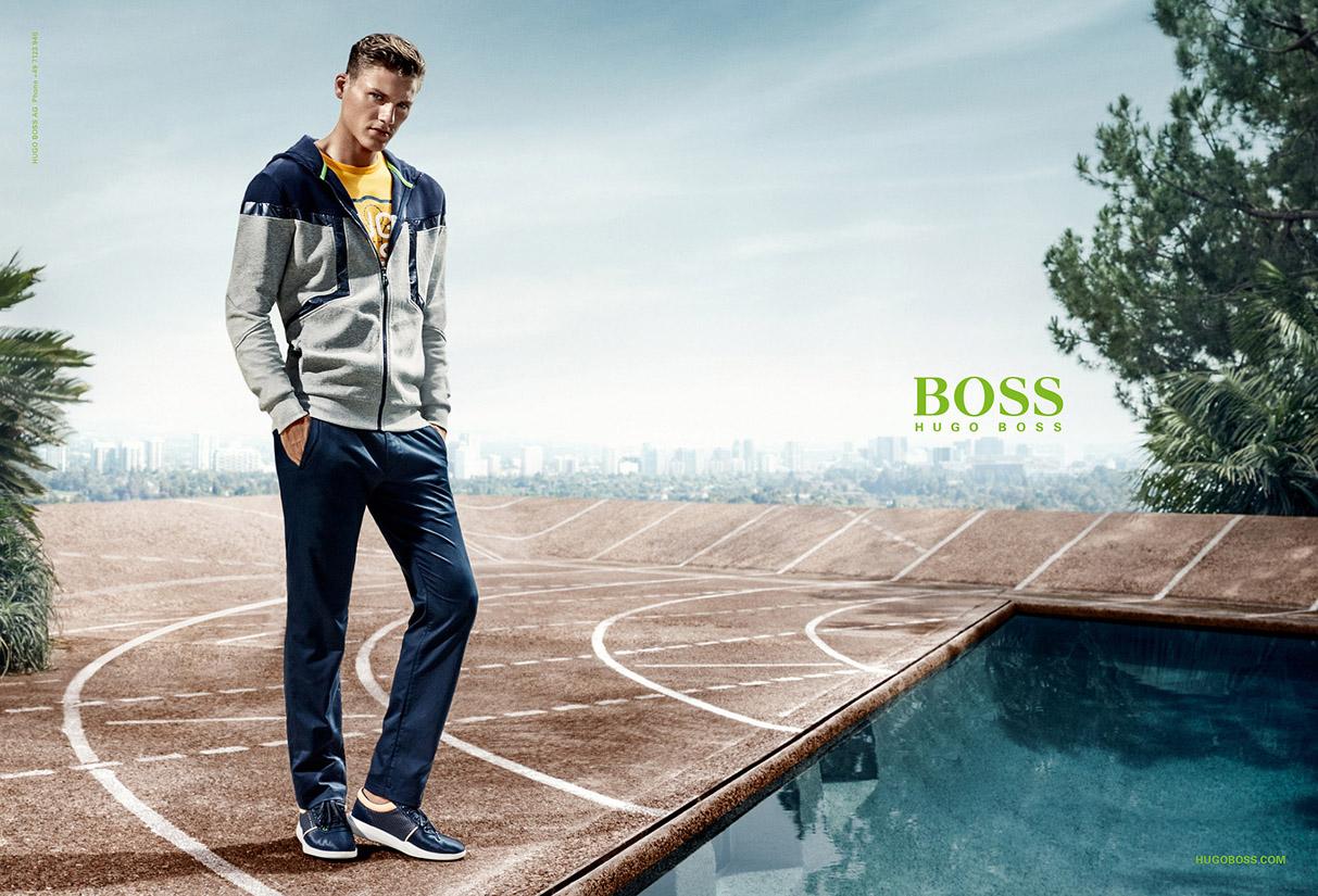 Hugo Boss Green With Mikkel Jensen Hunter Amp Gatti